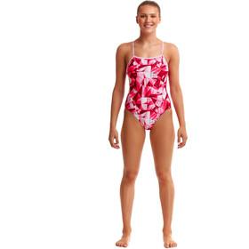 Funkita Single Strap Badeanzug Damen pink pane